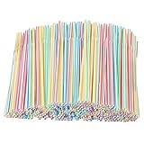 1000 pajitas coloridas, reutilizables, pajitas flexibles, pajitas de té de leche para bebidas de jugo, pajitas para cócteles, popotes para fiestas