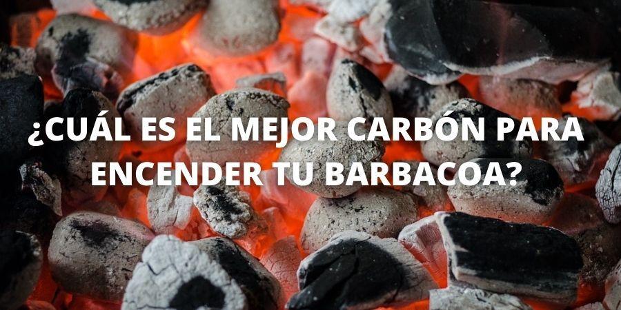 ¿CUÁL ES EL MEJOR CARBÓN PARA ENCENDER TU BARBACOA