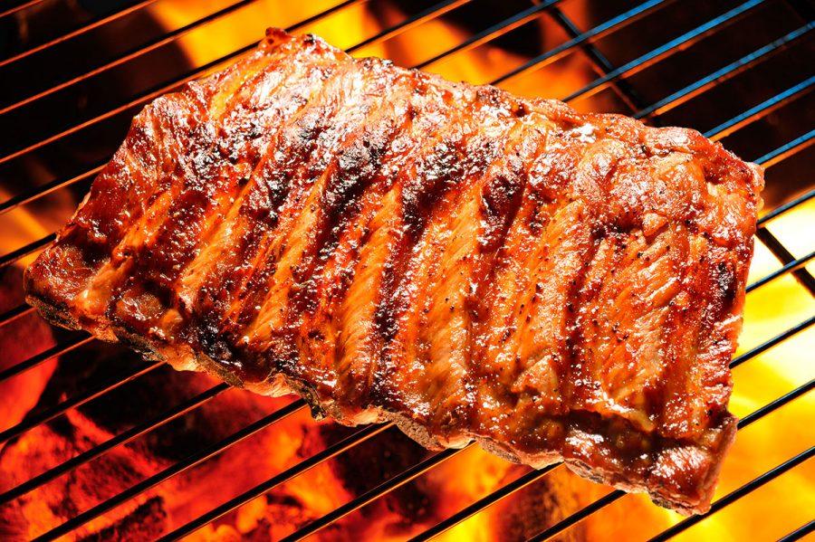 Costillas de cerdo BBQ