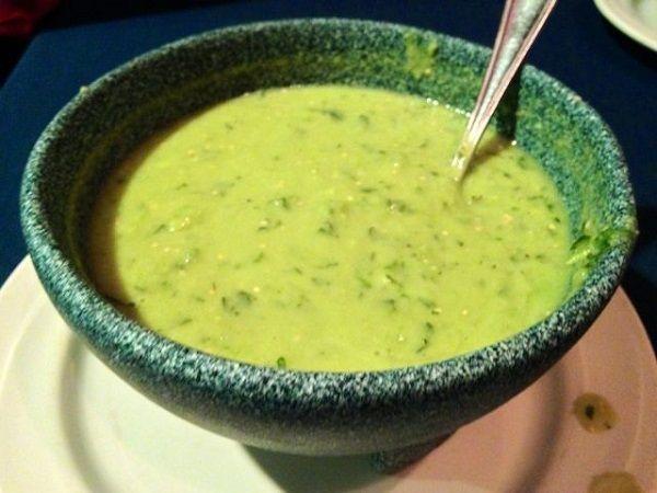 Salsa verde para tacos preparar