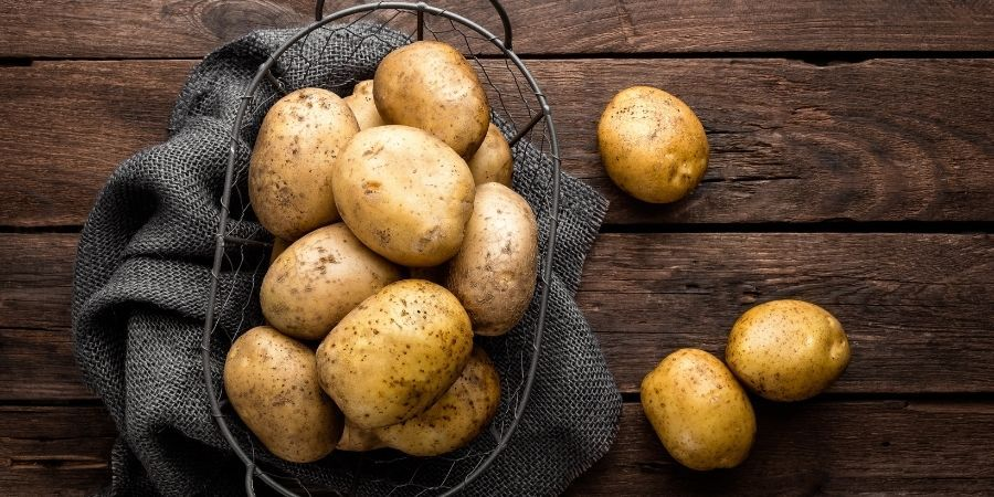 acompañar barbacoa de cordero con patatas