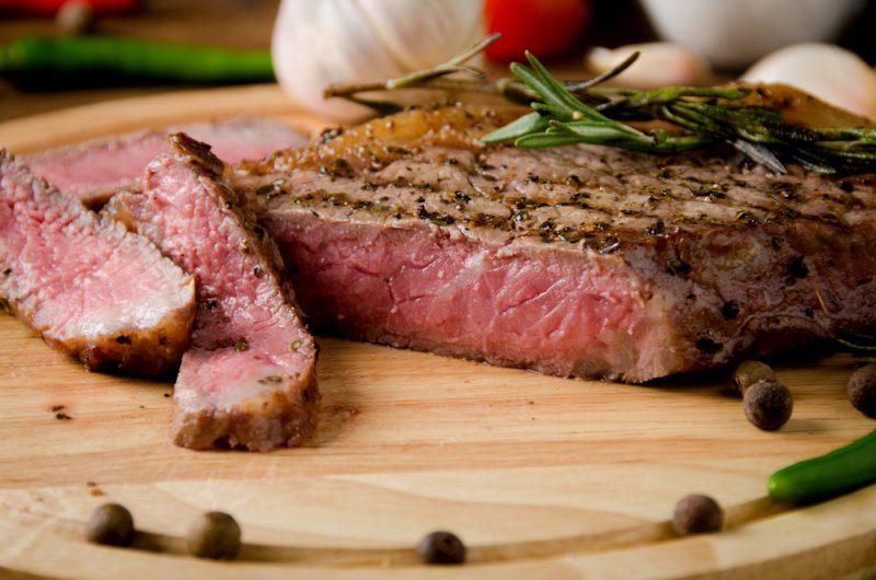 carne poco cocida