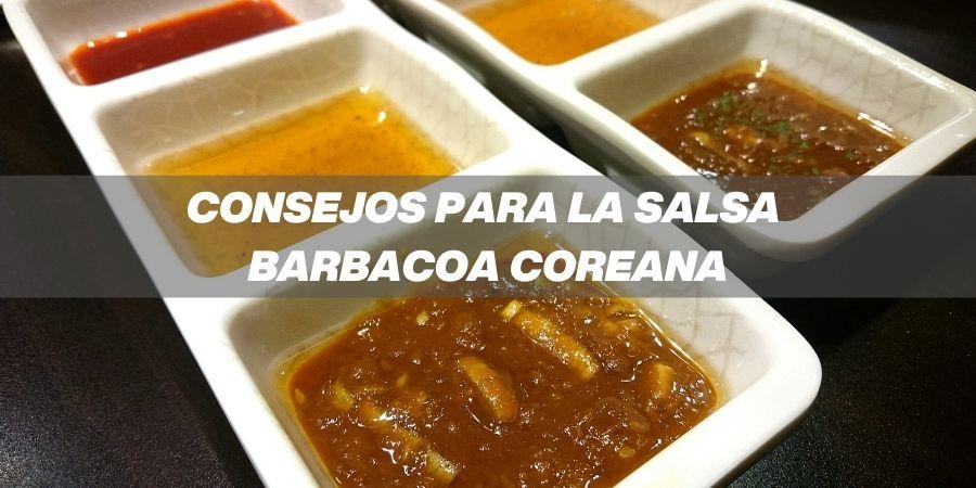 consejos para hacer la salsa barbacoa coreana