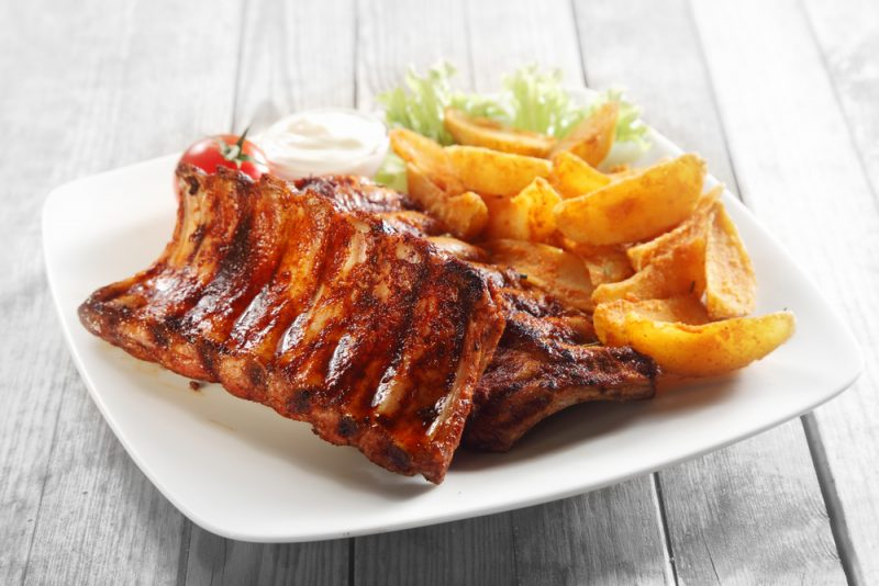 kebab de cerdo