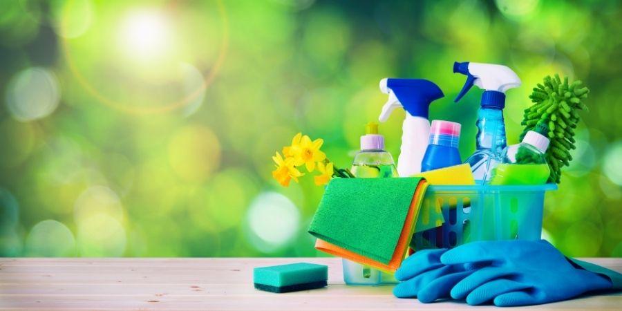 productos de limpieza para limpiar barbacoa de obra