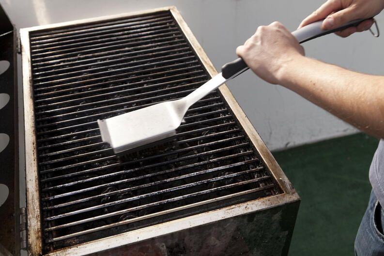 restaurar barbacoa oxidada