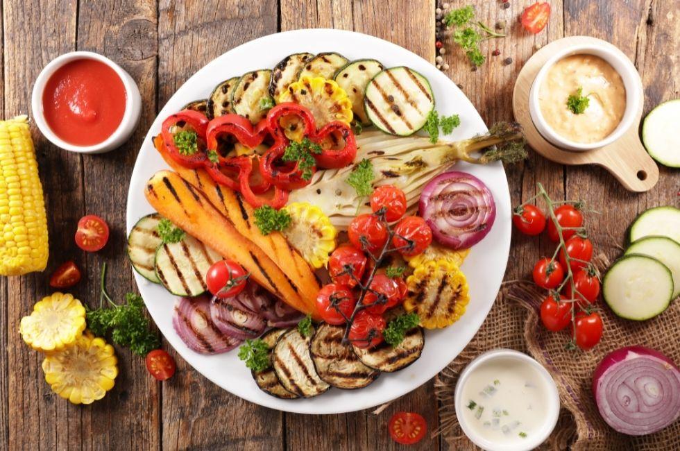 mejores verduras para asar en la barbacoa