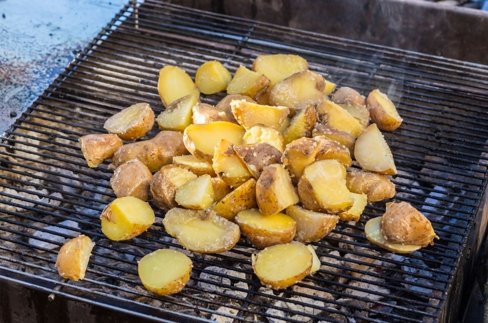 patatas asadas a la barbacoa