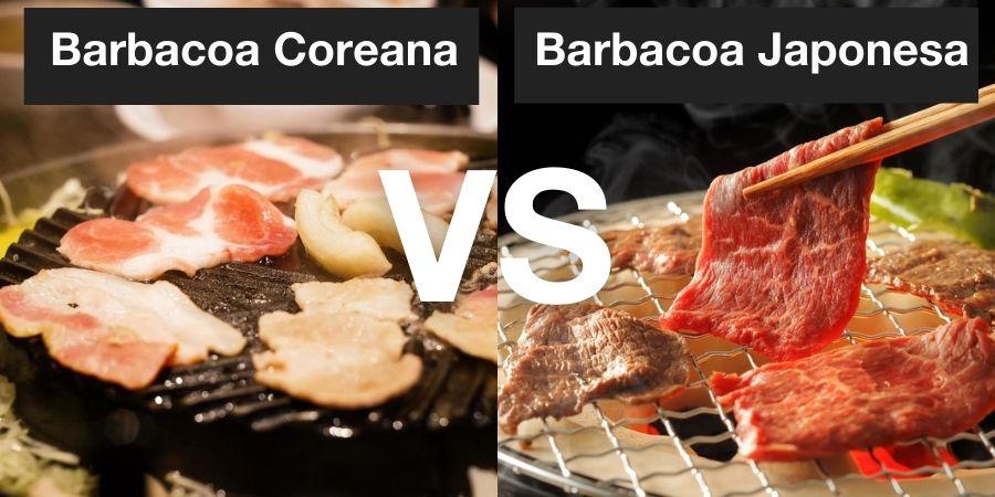 ¿Qué diferencia hay entre la barbacoa Coreana y la Japonesa?