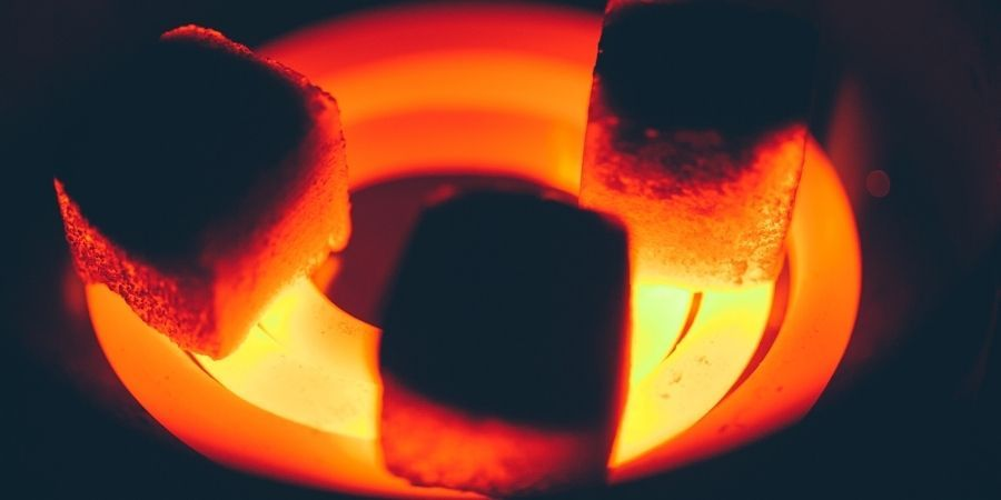 combustible para barbacoa sin humo