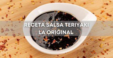 Receta Salsa Teriyaki para barbacoa